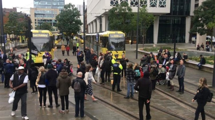 Tory conference: Activists criticise 'heavy-handed' police action at tram protest
