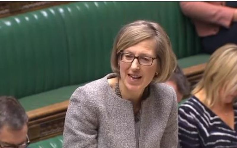 Sarah Newton speaking in the House of Commons