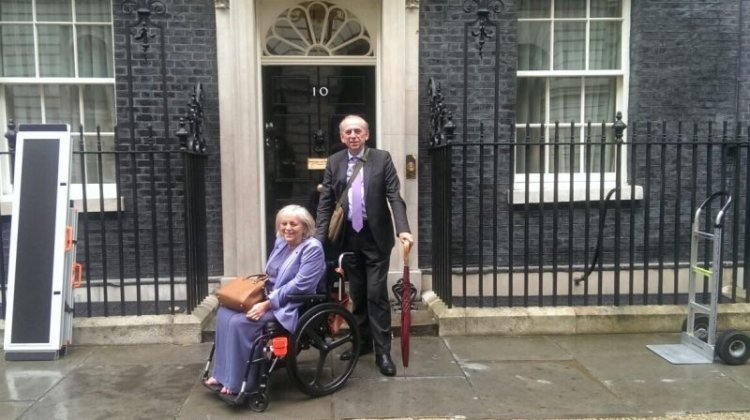 10 Downing Street wins access award… despite steps to iconic front door