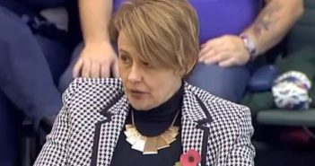 Baroness Grey-Thompson giving evidence to the committee