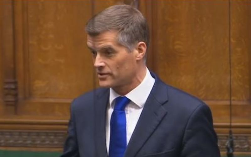 Mark Harper speaking in the House of Commons