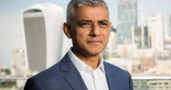 Sadiq Khan head and shoulders