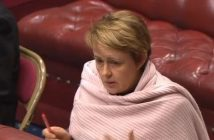 Baroness Grey-Thompson speaking in the House of Lords