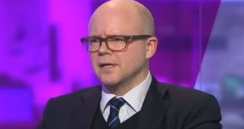 Toby Young head and shoulders