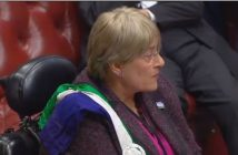Baroness Brinton speaking in the debate