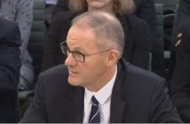 Mike Betts giving evidence