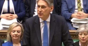Philip Hammond speaking in the House of Commons