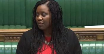 Marsha de Cordova speaking in the House of Commons