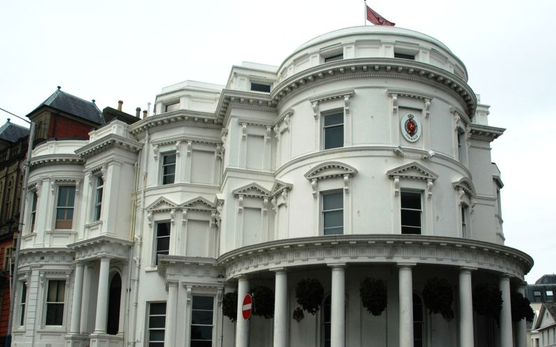 The Tynwald parliament building
