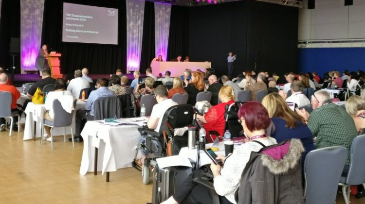 TUC Disabled Workers' Conference: UN convention 'must become part of UK law'