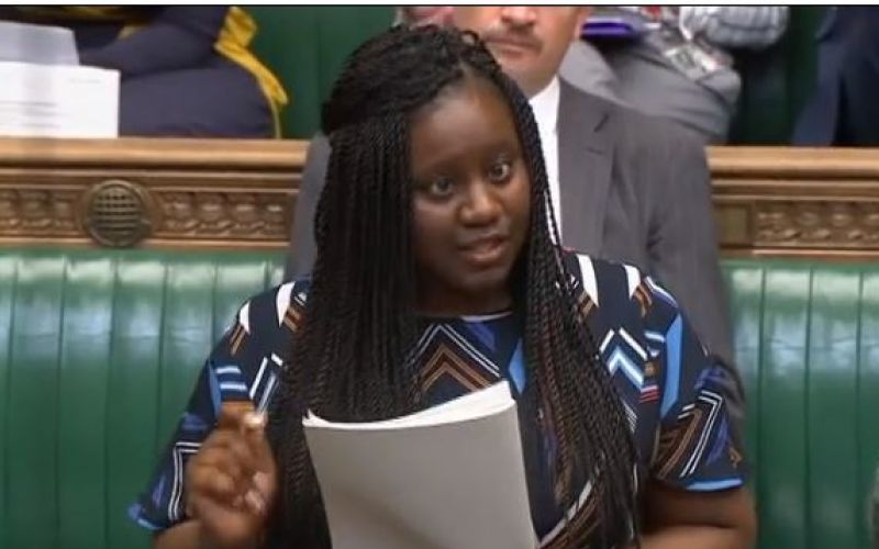 Marsha de Cordova speaking in parliament