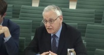 David Webster giving evidence