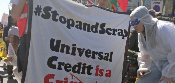 Direct action pledge after DWP pays tabloid to air-brush universal credit