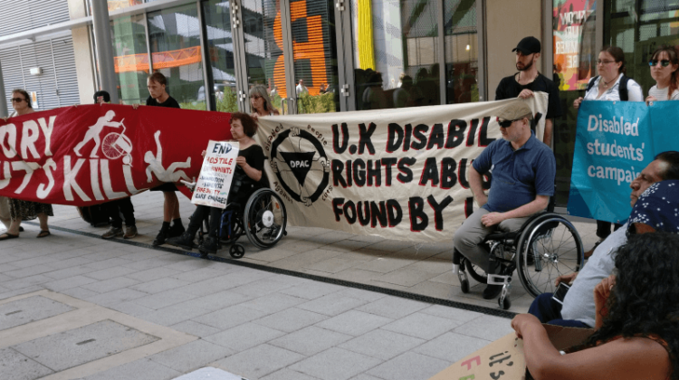 Global Disability Summit: DPAC's protest festival highlights government hypocrisy