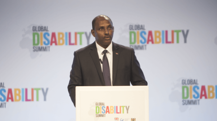 Global Disability Summit: Mordaunt defends co-host Kenya despite its gay rights record