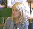 Esther McVey giving evidence to the committee