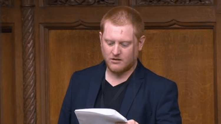 Autistic MP calls for change in equality laws to make parliament less hostile