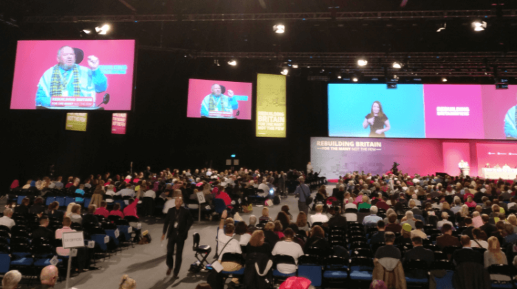 Labour conference: Members call on party to 'stop and scrap' universal credit
