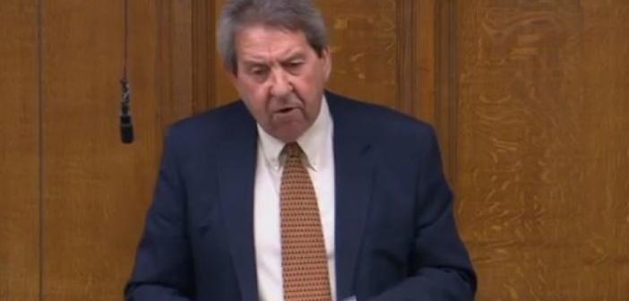 Gordon Henderson speaking in the House of Commons