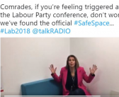 Labour activist 'violated' by journalist's safe space tweet welcomes ban