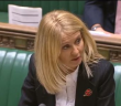 Esther McVey speaking in the House of Commons