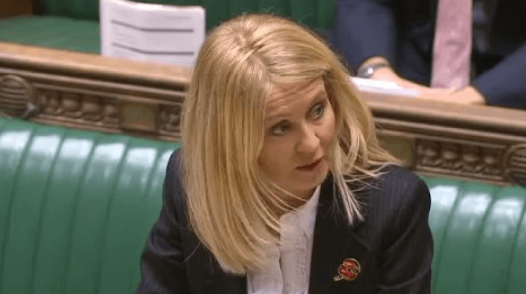 McVey failed to respond to letter about benefit deaths cover-up, DWP admits