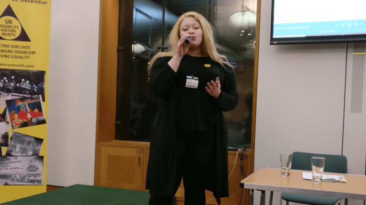 Parliamentary event recognises disabled musicians who trumped oppression
