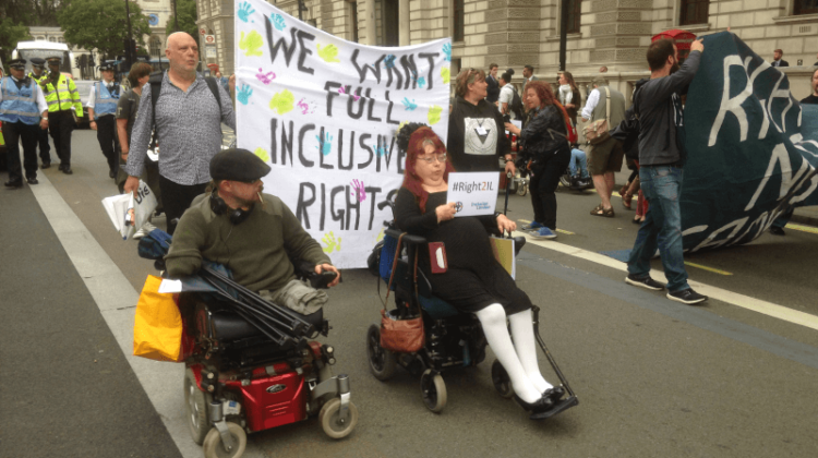 Police targeting of disabled protesters is 'an outrage and a scandal… and it's set to spread'