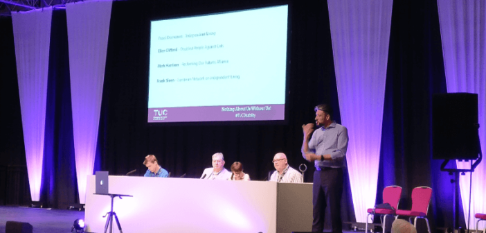 TUC Disabled Workers' Conference: Unions back plans for national support service