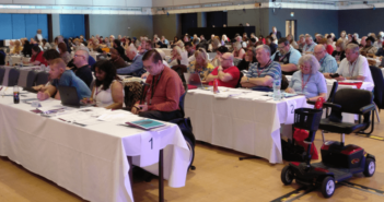 Delegates at the TUC Disabled Workers' Conference