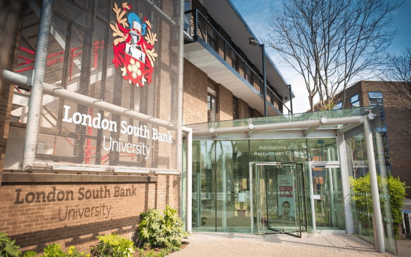 A London South Bank building