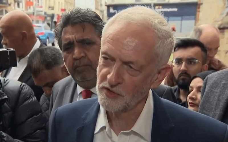 Jeremy Corbyn head and shoulders