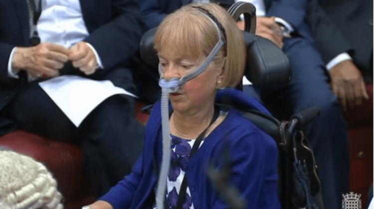 Disabled peer misses Queen's speech after Underground flouts court ruling
