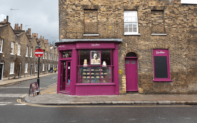One of the Konditor stores