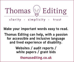 Thomas Editing - accessible and inclusive editing services