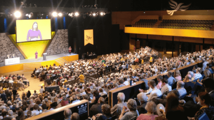 Lib Dem conference: Party would keep universal credit… but scrap sanctions