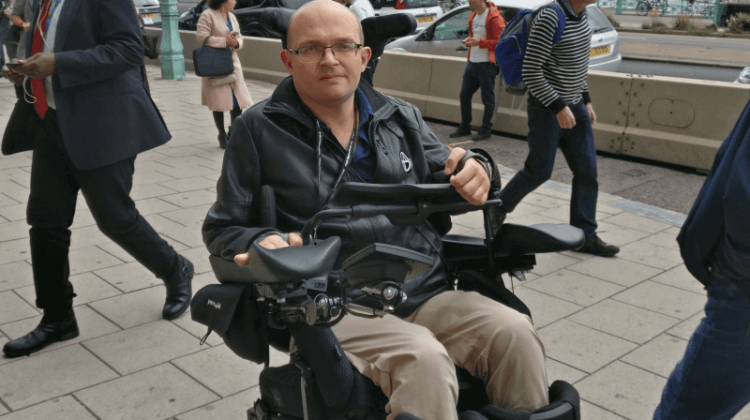 Labour conference: Disabled journalist bids to break new ground in parliament