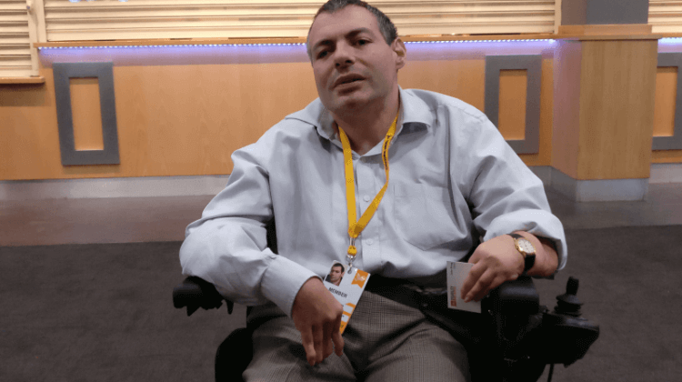 Lib Dem conference: Party 'probably overlooked' working-age disabled people
