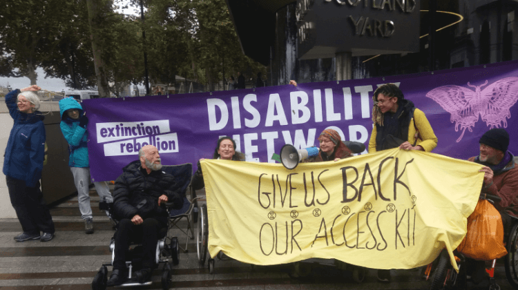 Met's disabled advisers lodge complaint over police 'discrimination' during XR protests