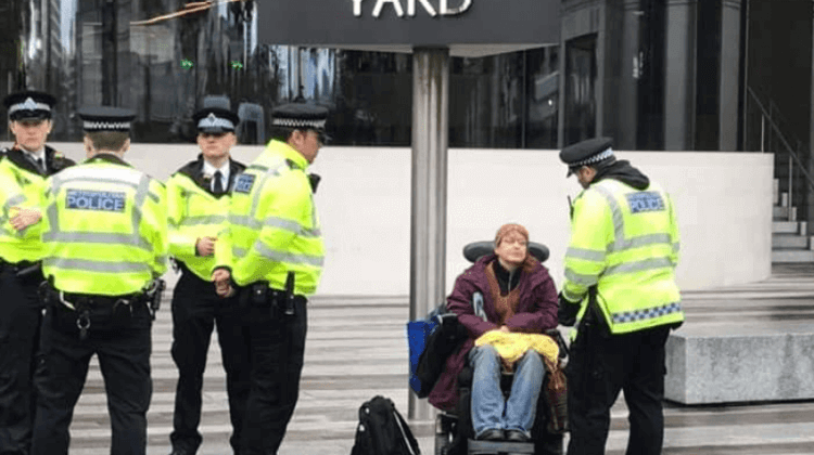 Police could face XR legal action over disabled people's right to protest