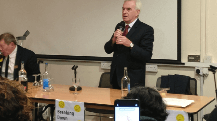 Election 2019: Shadow chancellor says disabled voters 'will make Tories pay for austerity'