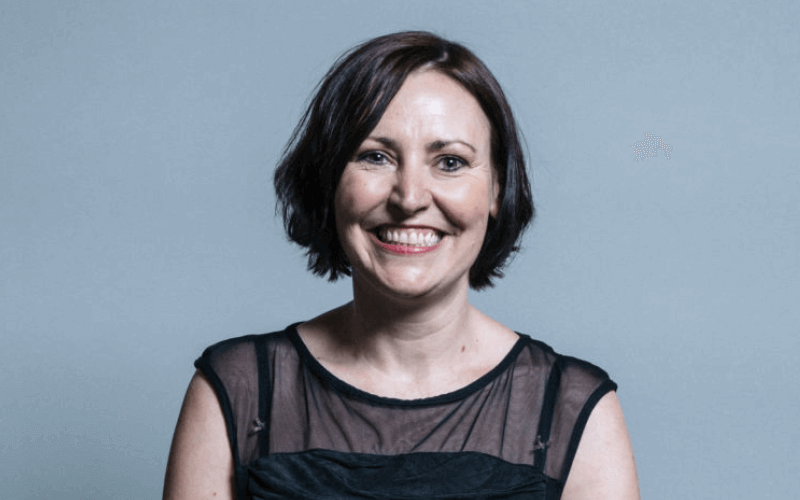 Vicky Foxcroft head and shoulders