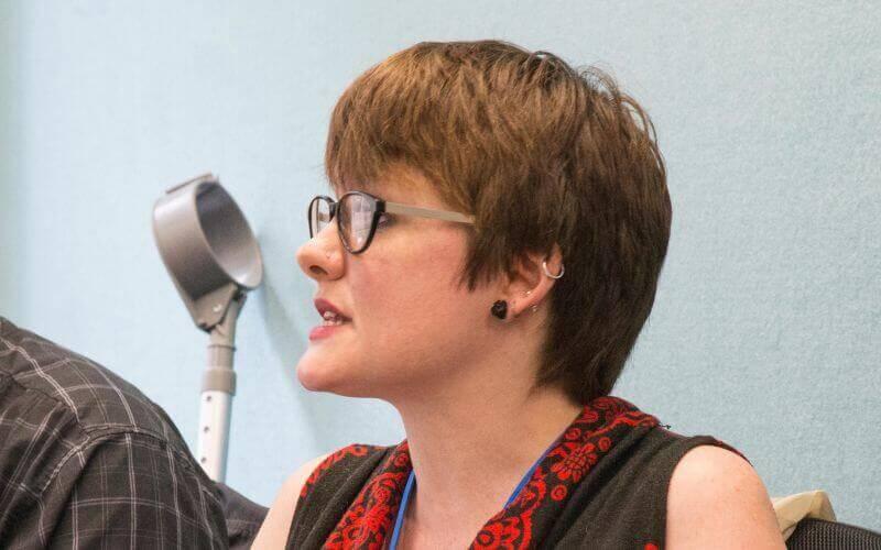 Ellen Clifford head and shoulders