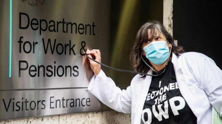 Disabled artist 'sections' DWP for being 'a danger to benefit claimants'
