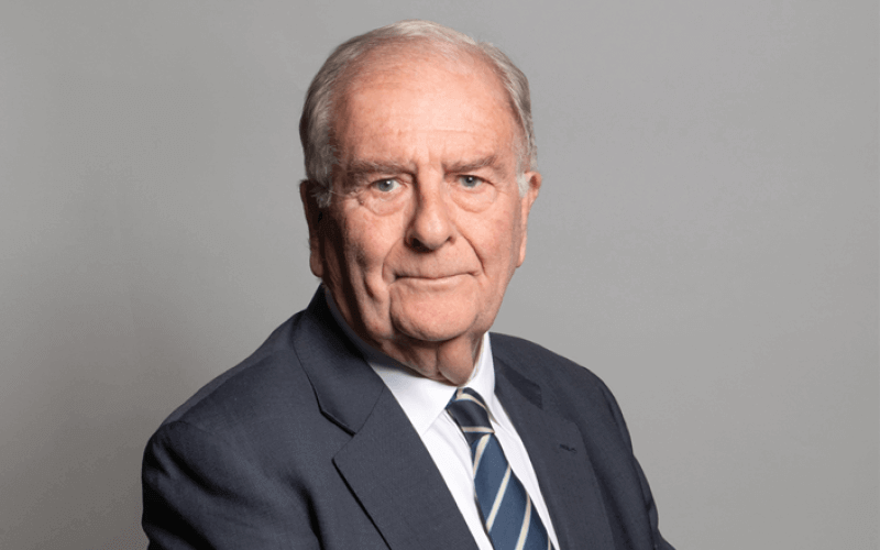 Sir Roger Gale, head and shoulders