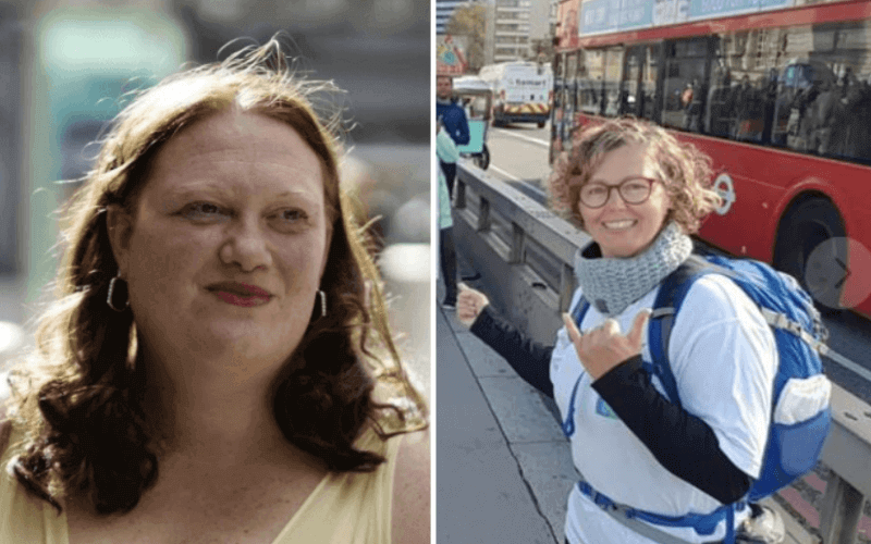 Separate pictures of Katie Rowley and Lynn Stewart-Taylor
