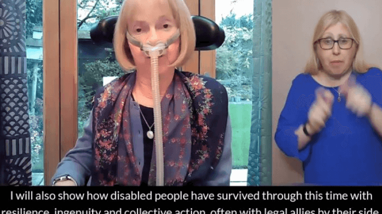 Disabled people 'have survived pandemic rights attacks with resilience', says activist-peer