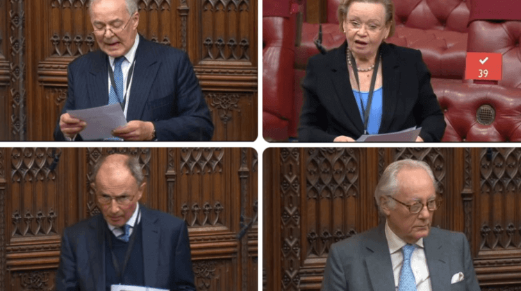 Tory silence after four peers aim disablist 'barrage of attack' on disabled colleagues