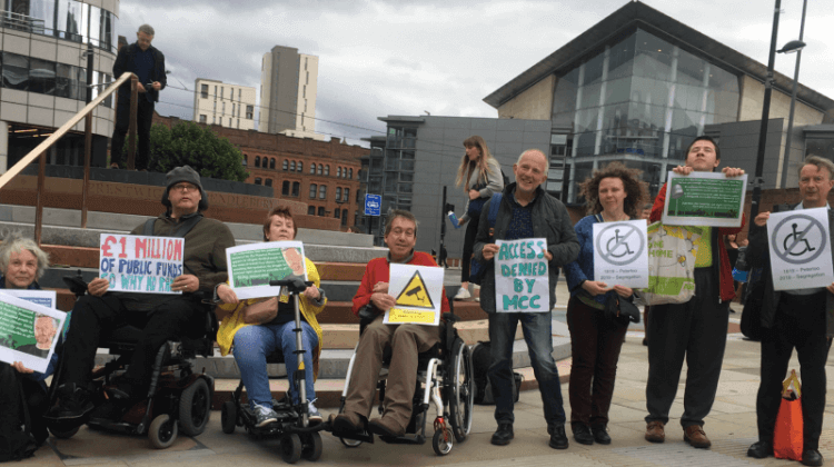 Disabled activists persuade council to think again on 'discriminatory' Peterloo memorial