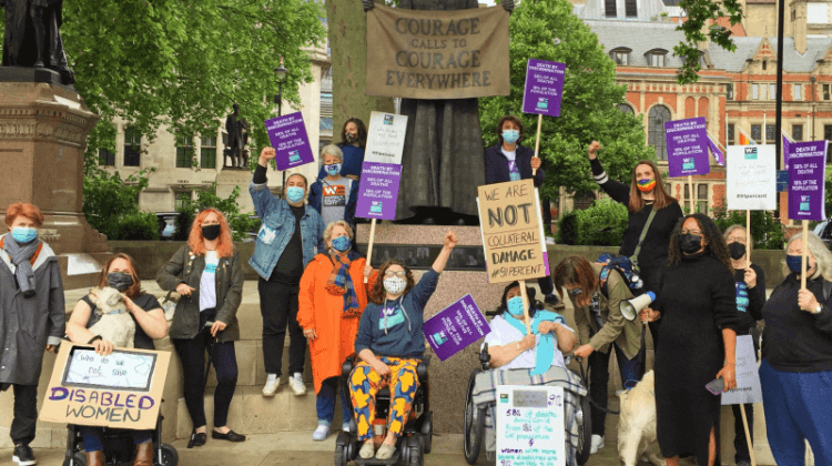 Disabled women decide 'enough is enough' and launch protest over pandemic deaths